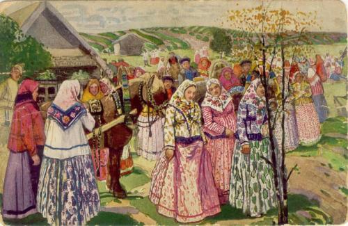 Третьяков-А-Н-1867-Праздник-в-деревне-летом